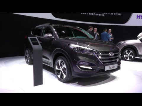 Unique Hyundai Tucson 2016 In Detail Review Walkaround Exterior