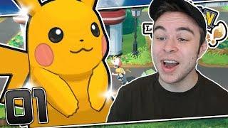 OUR SHINY STARTER POKEMON! Pokemon Let's Go Pikachu & Eevee ShinyLocke Part 01 w/ HDvee