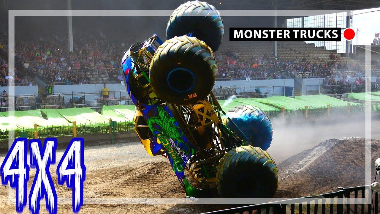 Monster Trucks Zane Rettew Rolls Stinger York Pa 2018 Youtube
