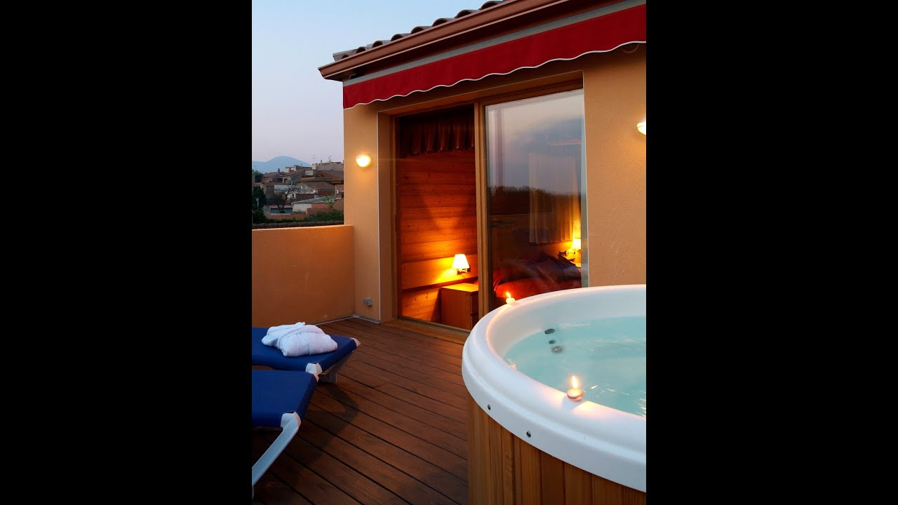 Habitaciones con jacuzzi privado youtube for Terrazas con jacuzzi fotos