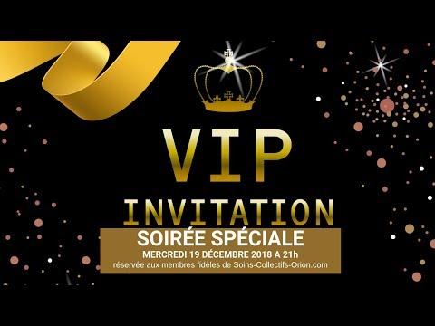 [SOIREE VIP] Soirée surprise exclusive le 19/12/2018 à 21h