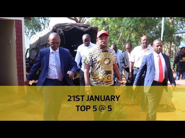 Top 5 @ 5: Ruto allies' BBI about-turn, Bitange love story, Employer's erotic demands
