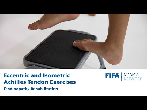Eccentric and Isometric Achilles Tendon Exercises | Tendinopathy Rehabilitation