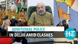 Tractor rally chaos: Amit Shah holds review meet, opposition responds