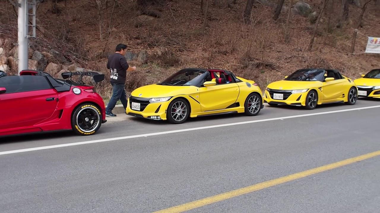 2019 Honda S660 문경 상반기 정모 - YouTube