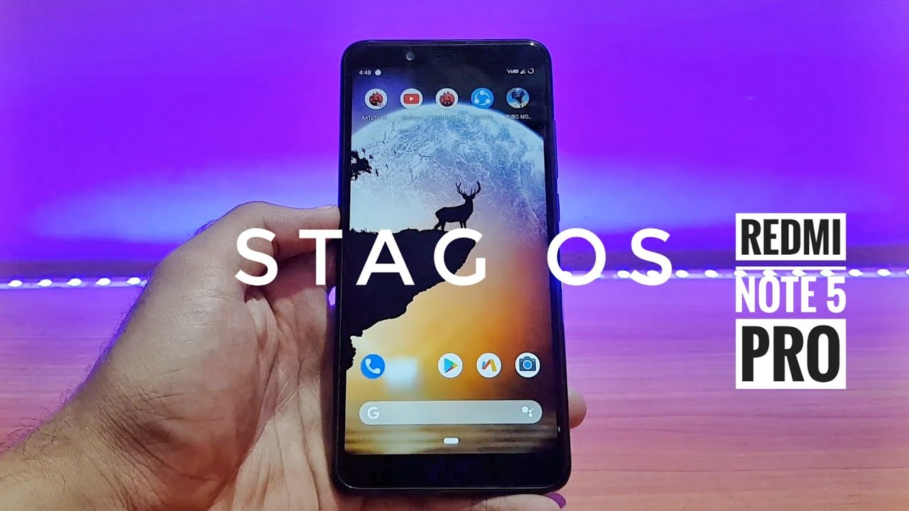 Stag os redmi note 5 pro || better than other roms ? 🤔