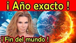 ¡AÑO EXACTO DEL FIN DEL MUNDO! predice Mhoni Vidente (video)