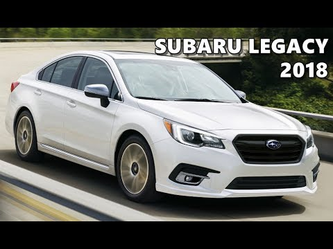 2018 Subaru Legacy Launch Trailer