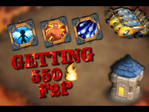 Castle Clash F2P 550 Flames
