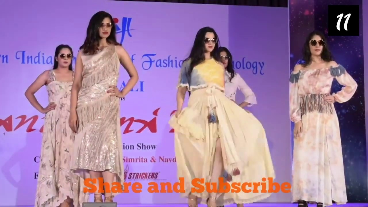 Yukti Anukama 2019 Niift Mohali A Design Collection Fashion Youtube