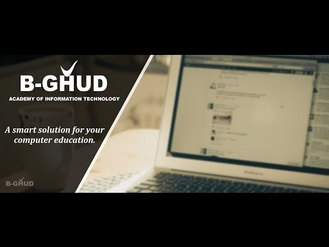 B-GHUD ACADEMY OF INFORMATION TECHNOLOGY - PROMOTIONAL AD