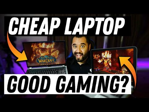 Classic WoW Vs CHEAP LAPTOPS? - Better Than You Think!