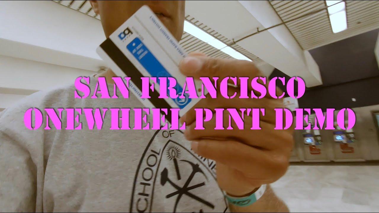 Onewheel Pint Demo in San Francisco June 8 2019