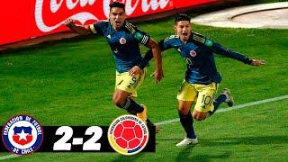 CHILE VS COLOMBIA | 2-2 | ELIMINATORIAS SUDAMERICANAS QATAR 2022