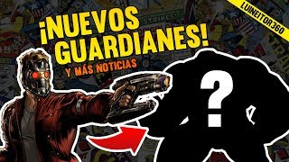 IMPERDIBLE ¡Nuevos GUARDIANES DE LA GALAXIA confirmados! (y más noticias) Luineitor360