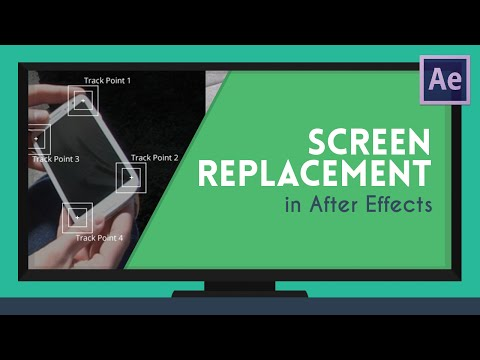 Screen Replacement - Perspective Corner Pin | After Effects Tutorial