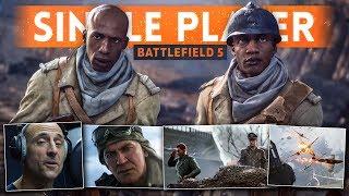 battlefield 5 war stories single player teaser trailer    sulis easter egg   mark strong narrator