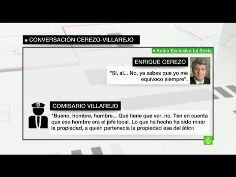 """Enrique Cerezo, a Villarejo: """"En las guerras no tiene que haber ni muertos ni heridos"""""""