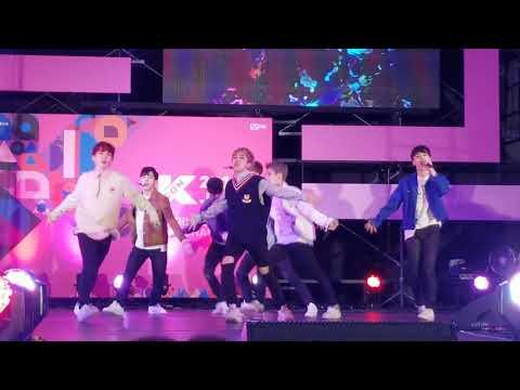 180415 BLK 비엘케이 Hero 직캠 @KCON JAPAN 2018