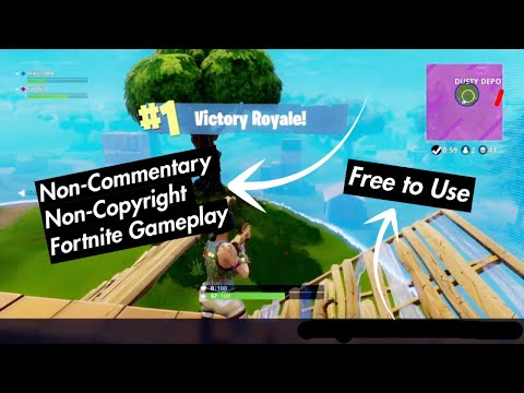 Non Commentarynon Copyrighted Fortnite Gameplay