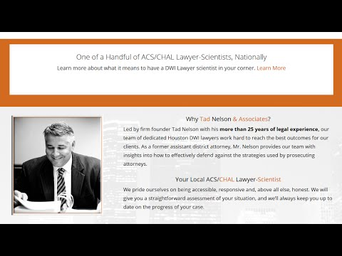 Board Certified ACS-CHAL Galveston DWI Lawyer-Scientist | League City, Houston