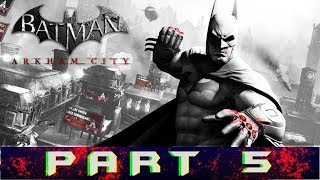 Batman: Arkham City Part 5 Mr.Freeze And Recover The Cure Gameplay Walkthrough [PC]