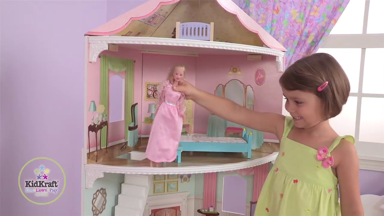 kidkraft corner dollhouse youtube
