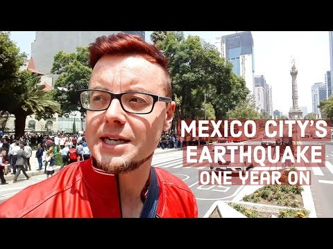 MEXICO City EARTHQUAKE | ONE YEAR ON | PASEO DE LA REFORMA | 19th September Earthquake DRILL