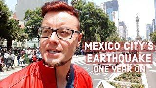 MEXICO City EARTHQUAKE | ONE YEAR ON | PASEO DE LA REFORMA | 19th September Earthquake DRILL