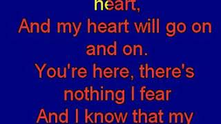 Dion Celine   Celine Dion Myheartwillgoon