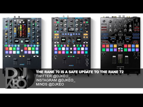 Rane Seventy Mixer Is Safe Update To The Rane Seventy-two