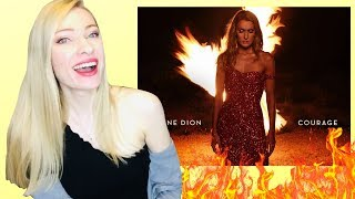 CELINE DION - Courage Deluxe Album [Musician's] Reaction & Review!