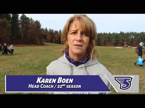 Stonehill College Men's and Women's Cross Country Reactions Post Race at NE10 Championships
