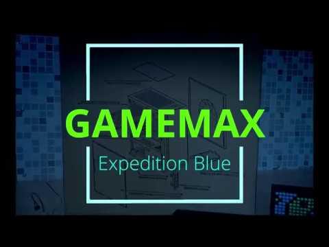 Корпус GameMax Expedition Red