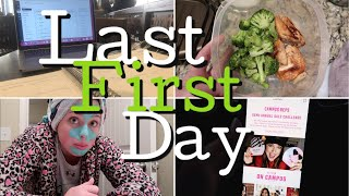 Last first day of school EVER | being on PINK Nation, eating healthy, classes, working out | Auburn