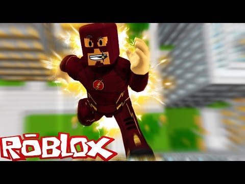 THE FLASH IN ROBLOX! (Roblox Superheroes)