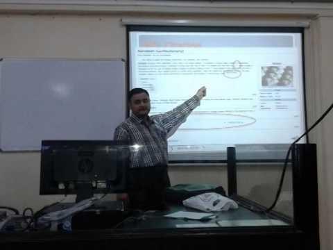 Urdu Wikipedia Workshop held by Dept.of Translation MANUU