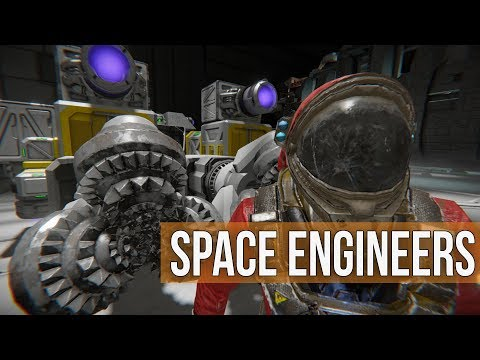 Space Engineers -  Building the Battle Badger Ep 34