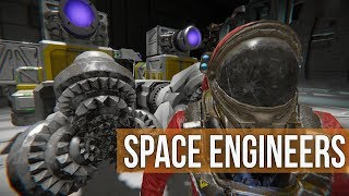 Space Engineers -  Building the Battle Badger Ep 35