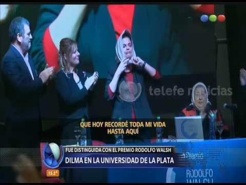 Dilma Rousseff en la universidad de La Plata - Diario de Medianoche