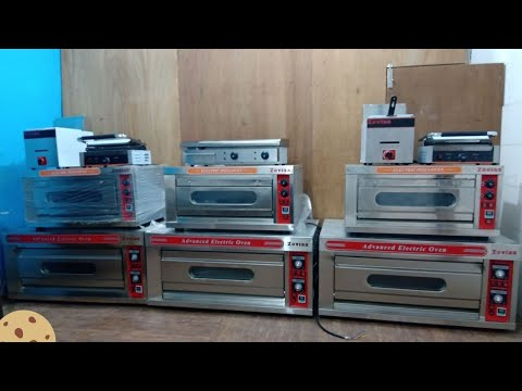 Deck Oven Price In India| Delhi For Single Deck Baking Oven Gas & Electric