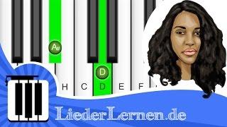 Glashaus - Ohne Dich - Klavier lernen - Musiknoten - Akkorde