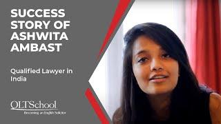 Success Story of Ashwita Ambast - QLTS School's Former Candidate