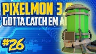 """Minecraft Pixelmon 3.0 """"FOSSIL MACHINES!"""" Gotta Catch 'Em All - Episode 26 (Minecraft Pokemon Mod)"""
