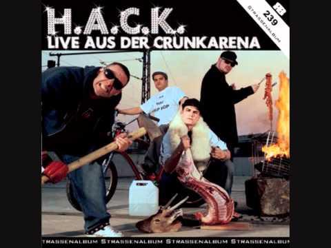13 H.A.C.K. - Biztram VS  Derill Mack (Live aus der Crunk Arena)