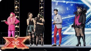 Russell Jones & Descendance battle for the Judges' attention | Boot Camp | The X Factor 2017