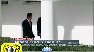 trump funny with japan minister