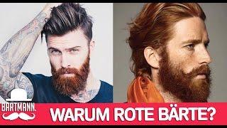 WARUM HABEN MÄNNER ROTE BÄRTE? | BARTMANN
