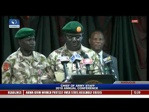Chief of Army Staff (COAS) 2018 Annual Conference Holds In Borno