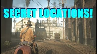 Red Dead Redemption 2 Unknown Locations and More LIVE!